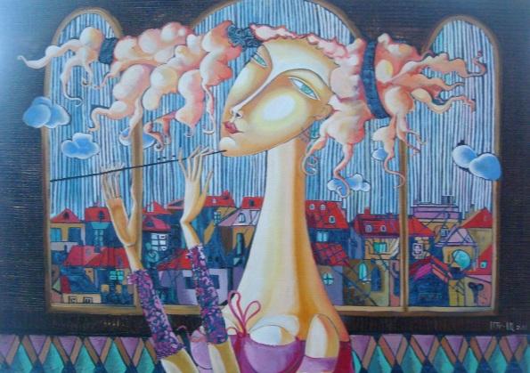 Anahit Mirijanyan - Girl with flute