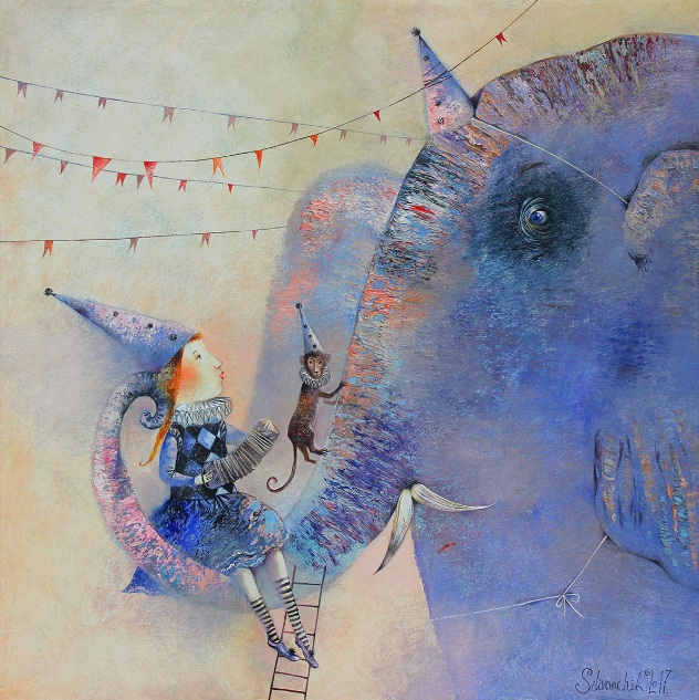Anna Silivonchik - Blue Dream of Blue Elephant