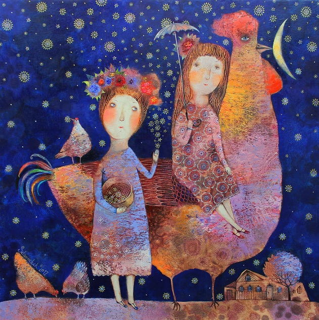 Anna Silivonchik - Star Rain