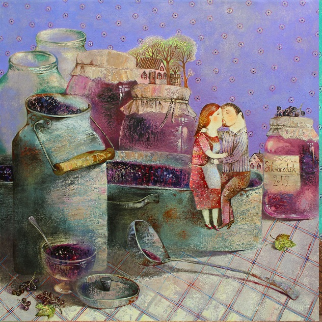 Anna Silivonchik - Sweet Kiss