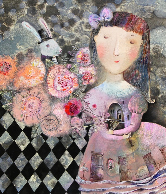 Anna Silivonchik - Wonderful garden
