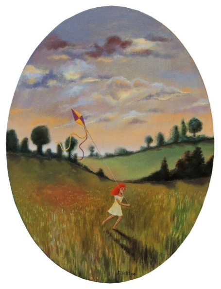 Antoinette Kelly - Flying a Kite