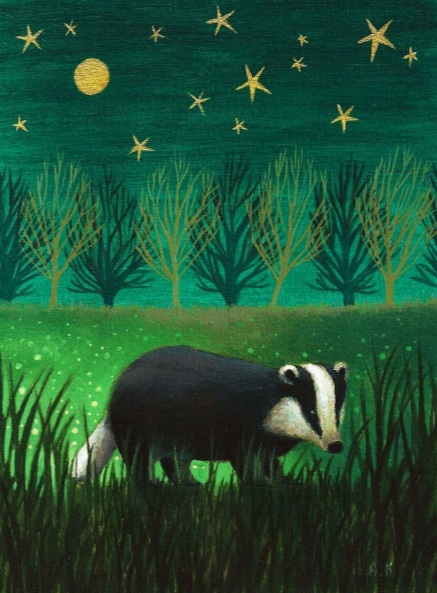 Antoinette Kelly - Night Badger