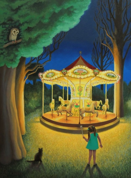 Antoinette Kelly - Nightime Carousel