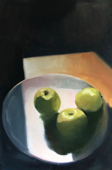 Jane Kell - Three Apples