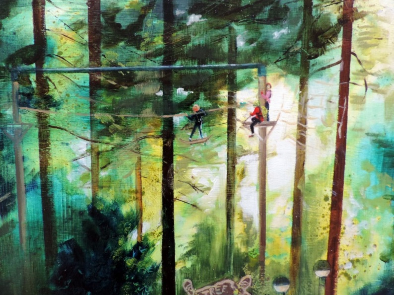 Sheila Chapman - Tree Trekking