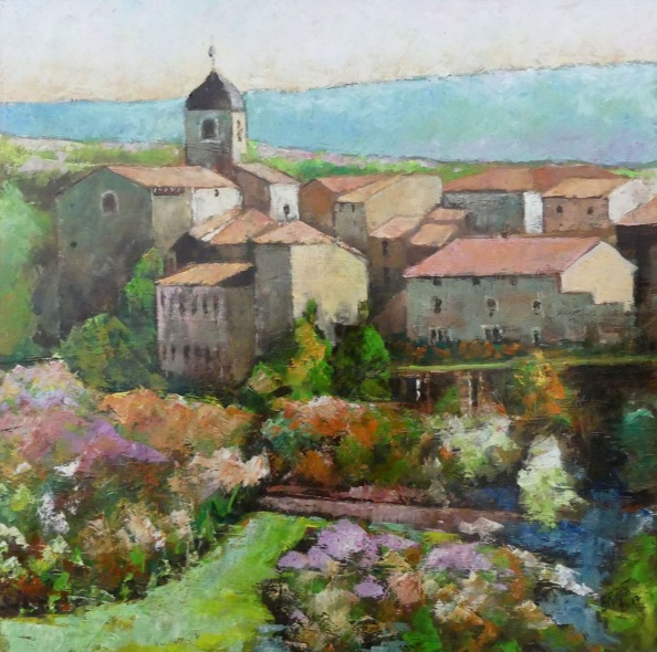 Alain Briant - A french medieval village Pérouges