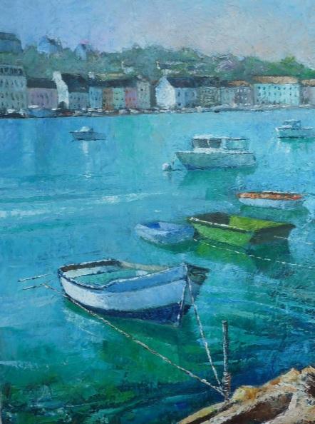 Alain Briant - Audierne Harbor