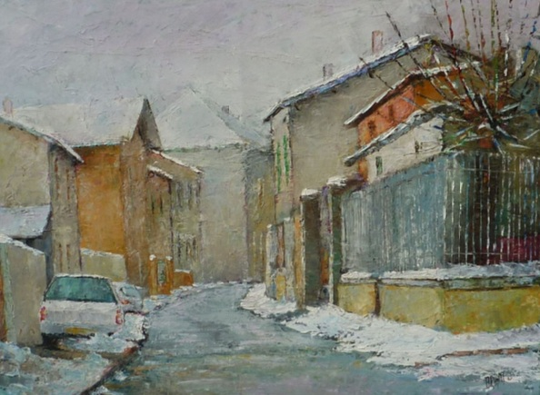 Alain Briant - Winter in Chavanoz
