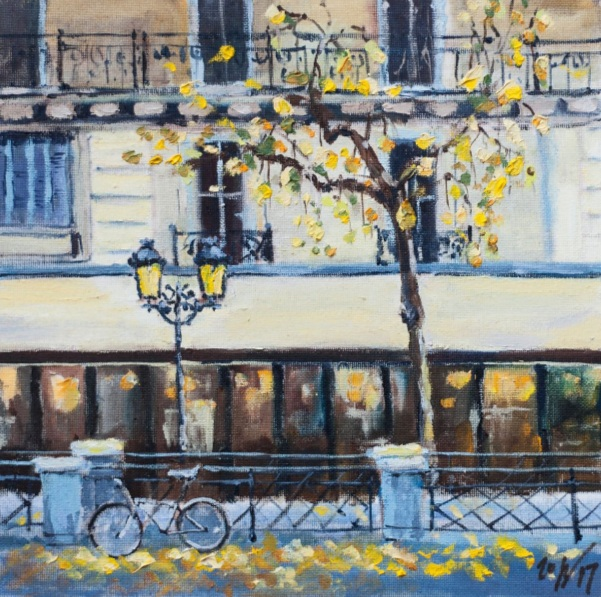 Alexandra Gordienko - Automne in Paris