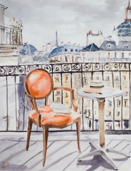 Alexandra Gordienko - Morning in Paris