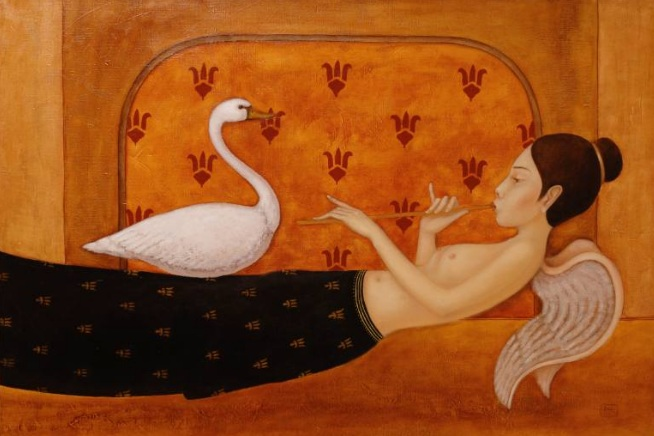 EDUARD ZENTSIK - Angel and the Swan