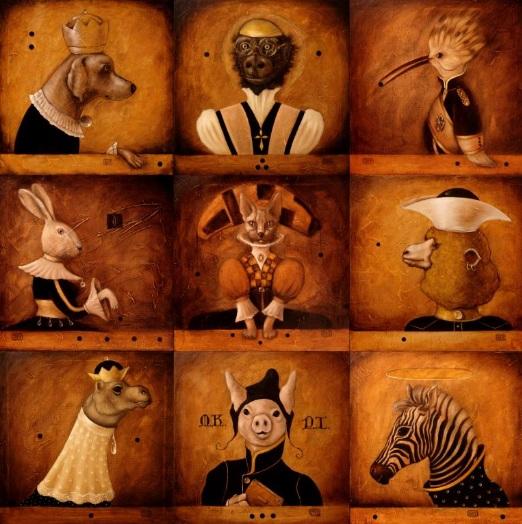 EDUARD ZENTSIK - Animals collection