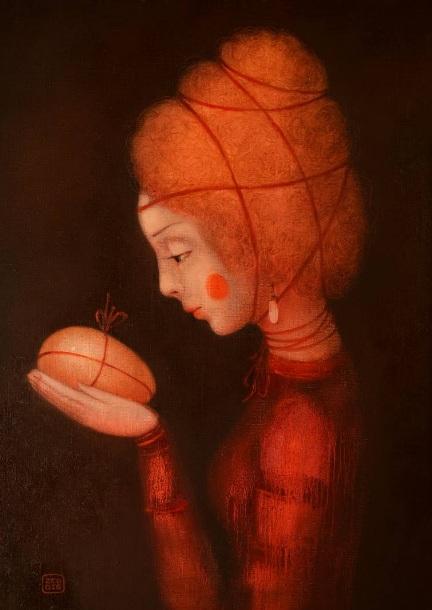 EDUARD ZENTSIK - Fire girl