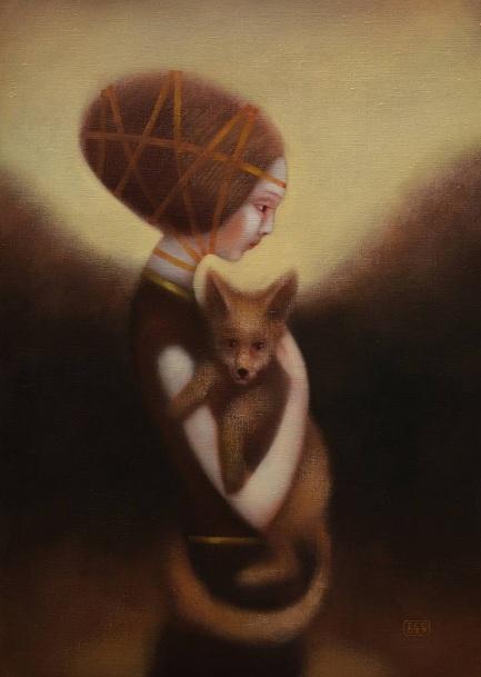 EDUARD ZENTSIK - Girl and fox