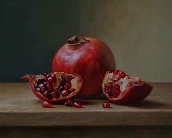 Albert Kechyan - Pomegranates 2