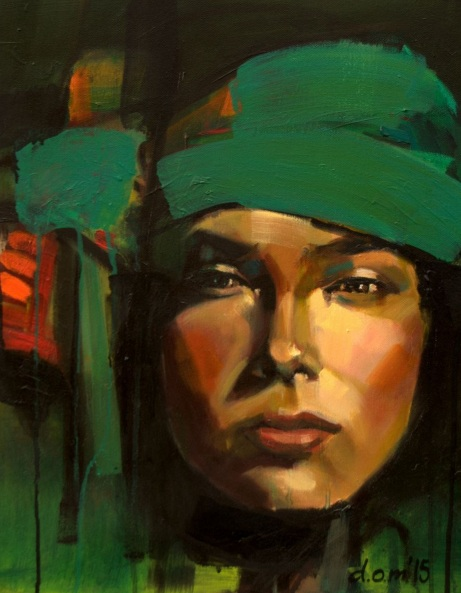 Dominika Zurawska - Green Turban