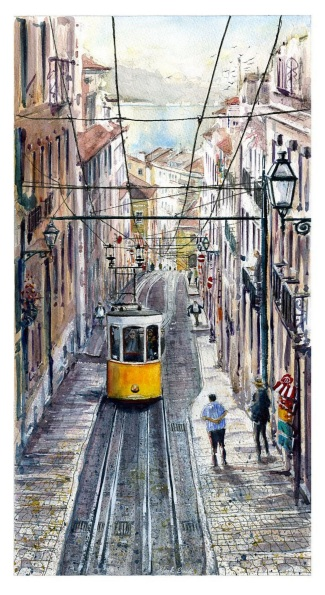 Mark Buck - Bica Funicular Lisbon