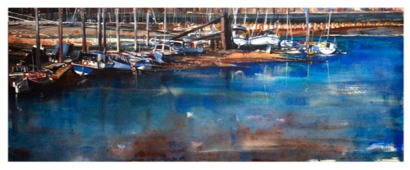 Mark Buck - Boats at low tide