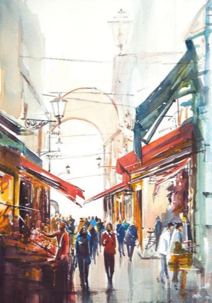 Mark Buck - Bologna Market, Italy