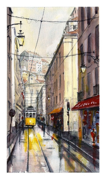 Mark Buck - Lisbon Tram 28