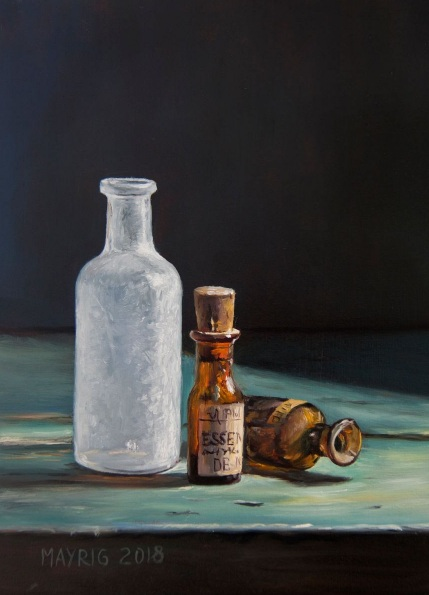 Mayrig Simonjan - Small bottles