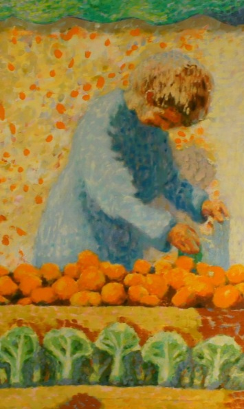 Roland F A McMorran - Orange Seller