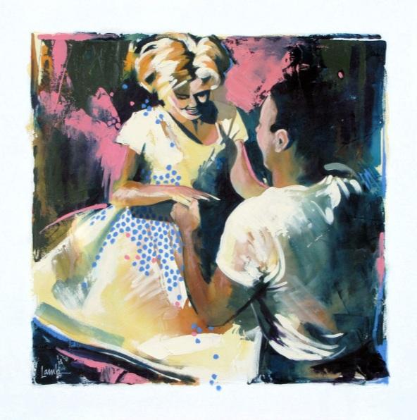 Sandra Lamb - Polkadot Swing
