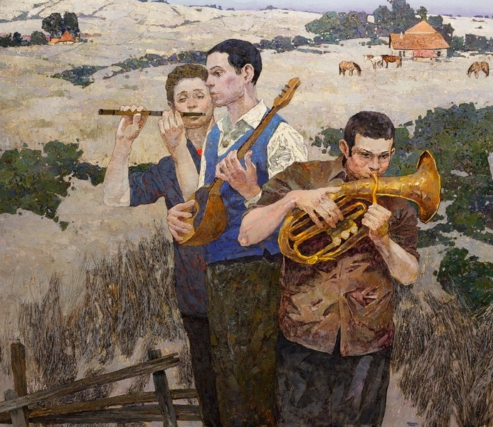 Denis Sarazhin - And the wind carries music