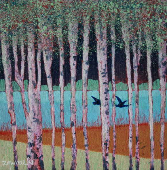 Paul Zawadzki - Through the Birches