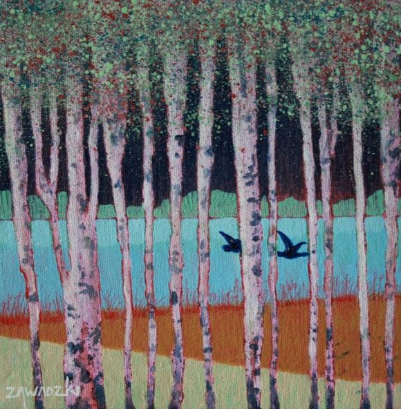 Paul Zawadzki - Through the Birches