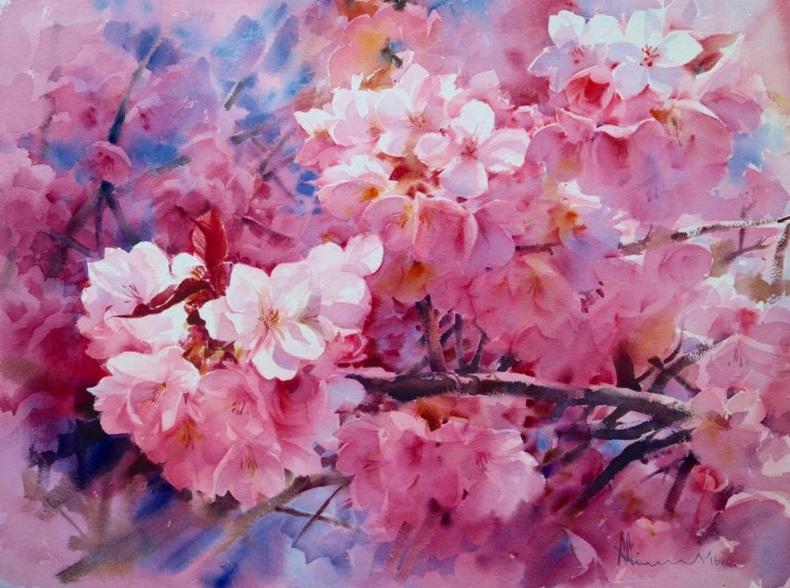 Adisorn Pornsirikarn - Cherry Blossoms