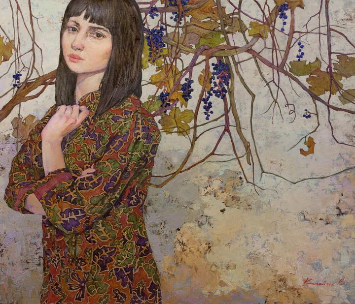 Victoria Kalaichi - Wild grapes