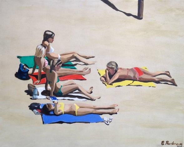 Brigitte Yoshiko Pruchnow - Beach