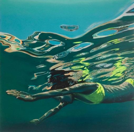 Brigitte Yoshiko Pruchnow - Diver No. 3