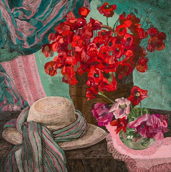Ekaterina Filiuta - Still Life with Poppies
