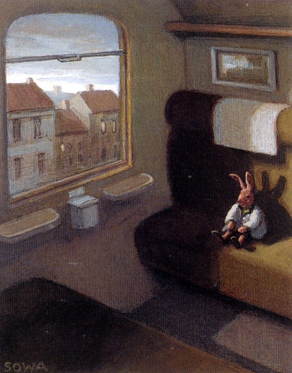 Michael Sowa - Rabbit on a Train