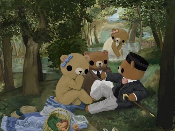 Reid Orsten - Teddy Bear's Luncheon on the Grass