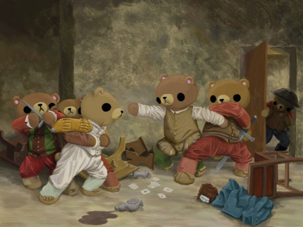 Reid Orsten - The Teddy Bear's Brawl