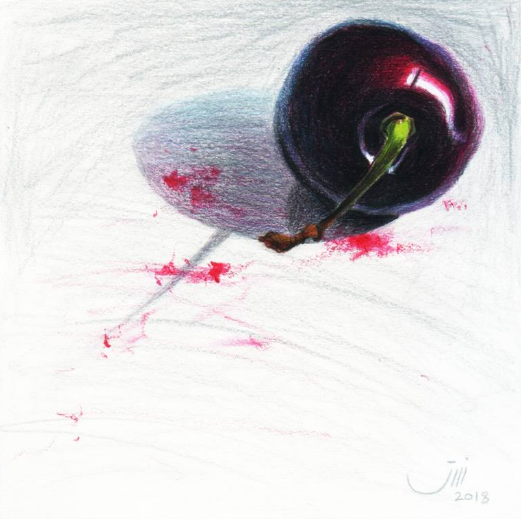 Sedigheh Zoghi - Daily Life No.112, A Cherry