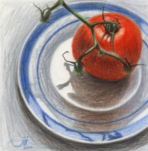 Sedigheh Zoghi - Daily Life No.90, A Tomato