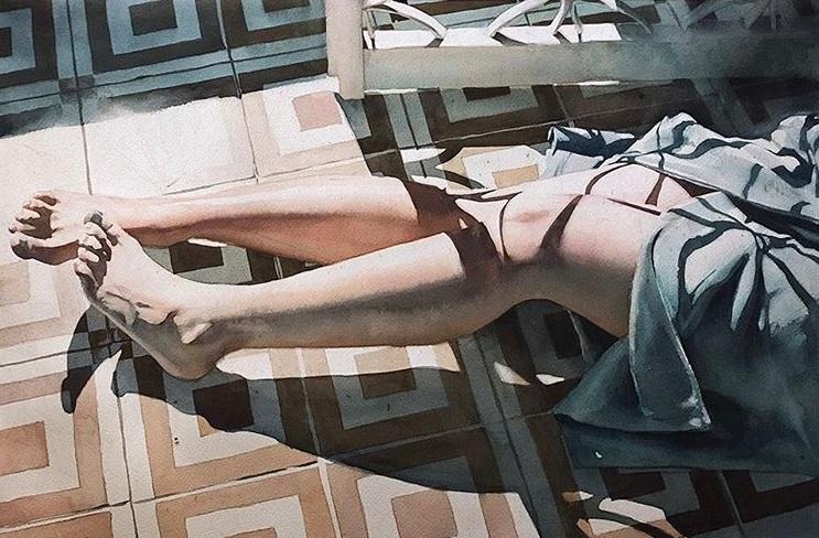 Marcos Beccari - Quarta-feira watercolor