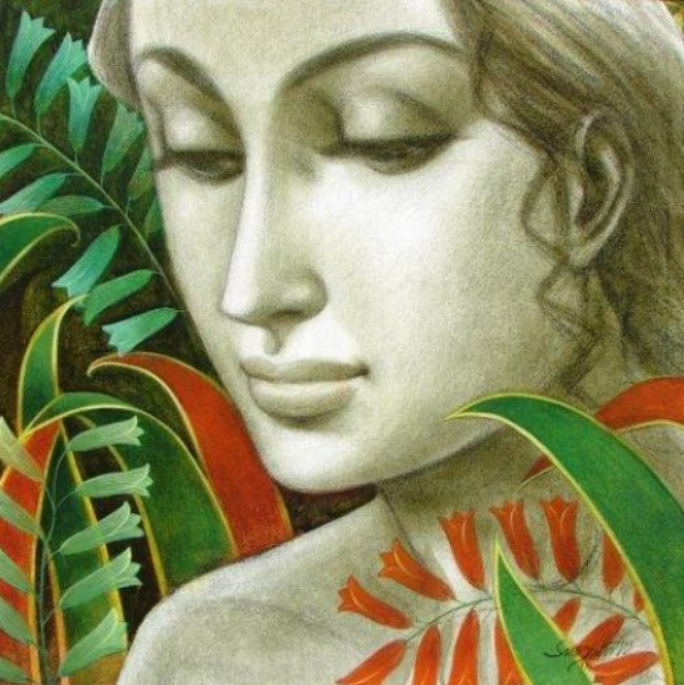 SUKANTA-Lady-in-the-garden