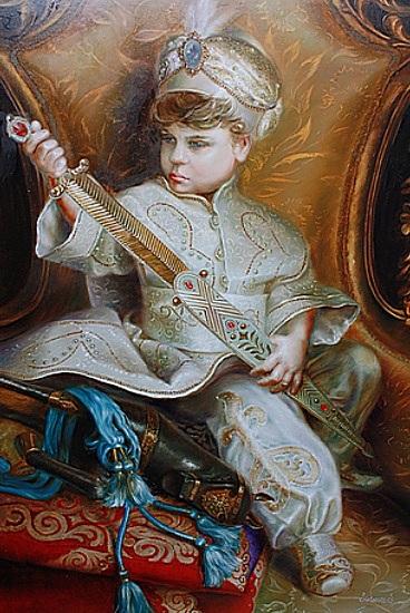 Svetlana Sintseva - My son Victor Shah