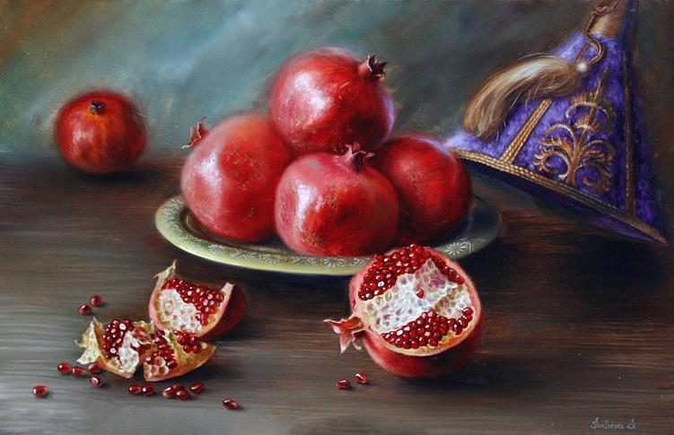 Svetlana Sintseva - Pomegranates