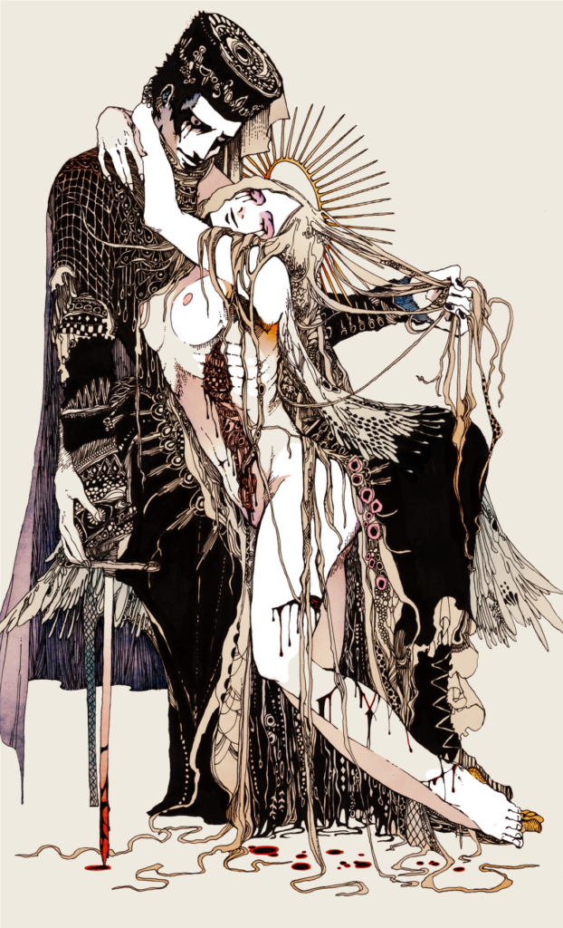 Akiya Kageichi illustration