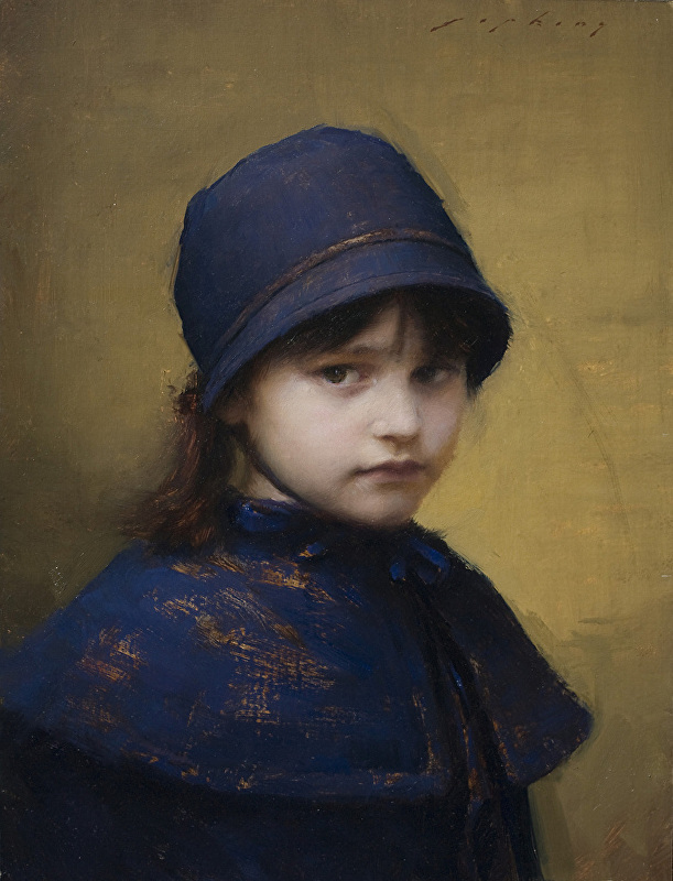 Jeremy Lipking - Skylar in Blue