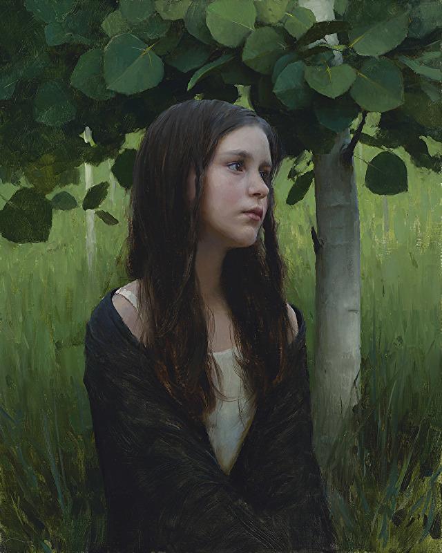 Jeremy Lipking - Spring Aspens