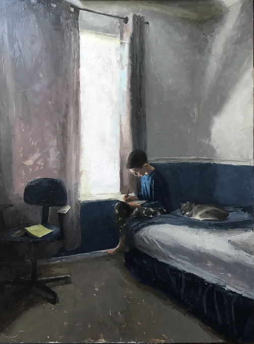 Casey Childs-Brilliance Dawing