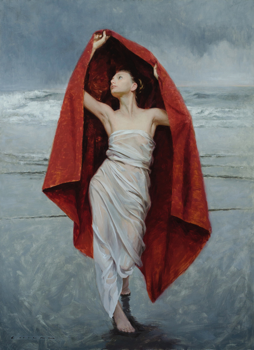 Casey Childs - Undine Rising from the Waters